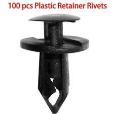 100pc Fit 8mm Hole Car Body Plastic Rivets Fastener Fender Bumper Push Pin Clips Fits 2005 Kia Amanti