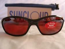 SUNCLOUD SCR ROSE Espresso Vintage Sunglass GLASS lens.. BRAND NEW WITH TAGS!!!