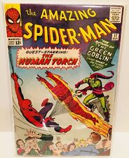 Amazing Spider-Man (Marvel Comics 1964) #17 2nd App Green Goblin FN- 5.5