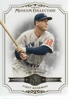 2012 Topps Museum Collection Baseball #22 Lou Gehrig New York Yankees