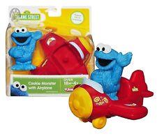 Playskool Sesame Street Cookie Monster with Airplane New in Package