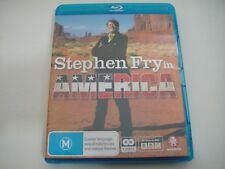 Stephen Fry in America (2007) - 2-Disc Set Blu-Ray Region B   Like-New   BBC