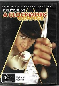 A Clockwork Orange Special Edition DVD 2-Discs (1971) cult film - REGION 4 AUST