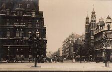 London Real Photo. Sloane St. from  Sloane Sq. Chelsea. Traffic! Pristine! 1915
