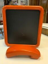 Vintage Western Electric Orange Wall Push Button Telephone Message Chalk Board