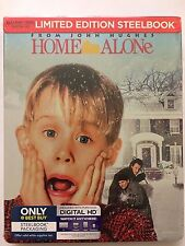 HOME ALONE 25th Anniversary Steelbook Edition(Blu-ray/DVD, 2-Disc Set + Digital)
