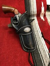 Custom Western Holster Bad Hombre Hand Tooled Cowboy Action