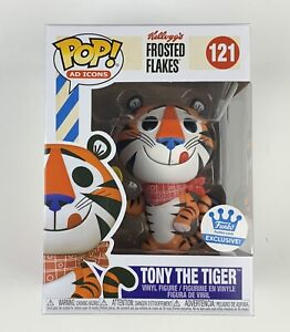 Funko Pop! Ad Icons: Kellogg's Frosted Flakes #121 Tony The Tiger - Exclusive