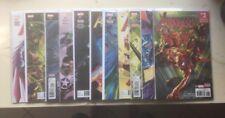 Avengers #1,2,3,4,5,6,7,8,9,10,11 (Marvel, Mark Waid, 6th Series, Secret Empire,