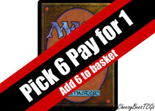 Magic the Gathering - MTG - Red Cards x1 (Q-Z)(M19 & Various Sets)