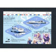 FR1229 - 2014 Finlandia Nordic Maritime Foglietto con francobolli romboidali
