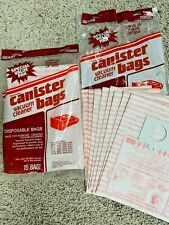 23 Pack SEARS KENMORE Canister Vacuum Cleaner Bags 205055 20-5055