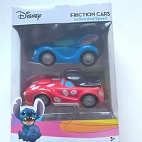 Disney Lilo & Stitch Friction Cars-2 Cars- Toys-Action & Speed-Authentic-NIB