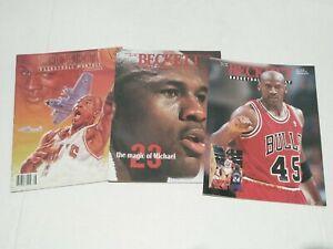 Vintage Michael Jordan Lot Of 3 Beckett Basketball Monthly Magazines