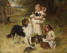 Morgan Frederick Rival Families Canvas 16 x 20   #6051