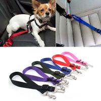 Nylon Pet Dog Safety Car Vehicle Seat Belt Harness Lead Pet Seatbelt Adjustable