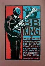BB King Poster Curtis Salgado Original Signed Silkscreen by Gary Houston