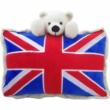 Union Jack Bear Cushion