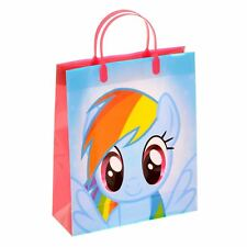 My Little Pony Gift Bag Christmas Birthdays Pinkie Pie & Rainbow Dash 27x32x10cm