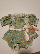 Cabbage Patch Kids Clothes Outfit dress and bloomers vintage 1987