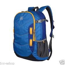 30L Blue Hiking Backpack Women & Men Camping Mountaineering Travel Rucksack Bag
