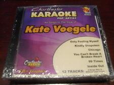 CHARTBUSTER 6+6 KARAOKE DISC 40502 KATE VOEGELE CD+G POP MULTIPLEX SEALED