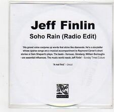 (FS158) Jeff Finlin, Soho Rain - 2006 DJ CD