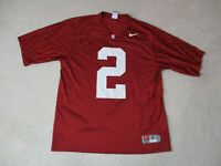 Nike Stanford Cardinal Football Jersey Adult Large Red White Ivy League Mens