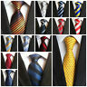 2019 Wedding Men's Striped Classic Silk Tie Jacquard Woven Formal Party Necktie