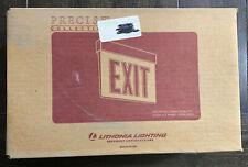 Lithonia Lighting Exit Sign Lrp 2 Rmr Da 120/277 Pnl Led Double Face Arrows
