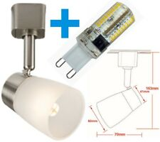 Knightsbridge LED Single Circuit G9 Base Dimmable 4W Cool White Track Spot Light