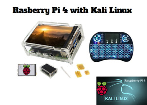 """Raspberry Pi 4b, 2gb version fully assembled with 3.5"""" Display and Mini Keyboard"""