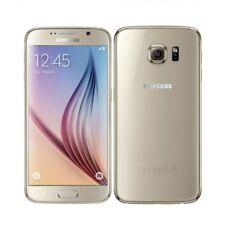 SAMSUNG Galaxy S6 SM-G920F 32GB Sbloccato SLIM IN ORO utilizzati Smart Cellulare