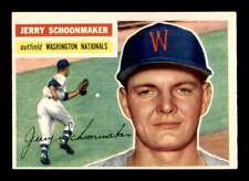 1956 Topps #216 Jerry Schoonmaker RC EXMT X1552189