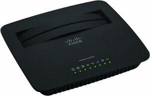 CISCO Linksys ADSL2+ Router X1000 Annex A - 802.11n, 3xLAN - Free shipping