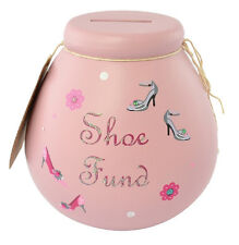 Pot of Dreams Piggy Bank Dream Shoes Fund Ceramic Money Pot Savings Jar