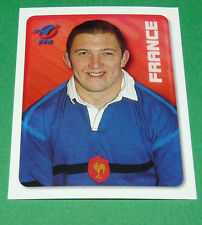 N°137 TOURNAIRE XV FRANCE FFR MERLIN IRB RUGBY WORLD CUP 1999 PANINI COUPE MONDE