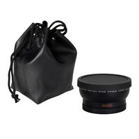 58mm 0.45x Wide Angle Macro Lens for Canon EOS 1100D DSLR Rebel T1i T2i XTi +Cap