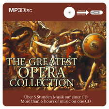 Klassik CD THE GREATEST Opera Collection de Various Artistas MP3 CD 5 HORAS