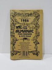 1986 The Almanac For Farmers & City Folk