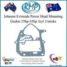 A Brand New Evinrude Johnson Power Head Mounting Gasket 20hp-thru-35hp # 330621