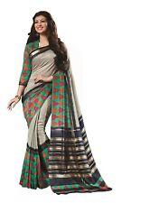 New Indian Sari Pakistani Muslim Wear Saree Wedding Function Designer Blouse 5