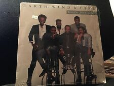 """EARTH, WIND, AND FIRE TURN ON ( THE BEAT BOX) 12"""" 1988 COLUMBIA 44 08140 SHRINK"""