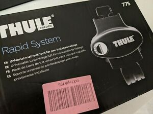 Thule Roof Rack Rapid System 775 Foot Pack