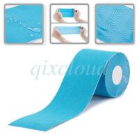 5cm 5M/RollMuscle Elastic Kinesiology Sports Tape Care Therapeutic Light Blue