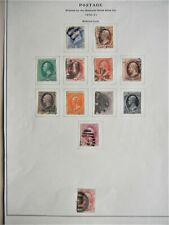 United States -- Scott #145-155 used set Catalog: $1,450