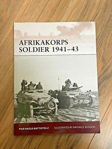 Osprey - Afrikakorps Soldier 1941-43 (Warrior 149)