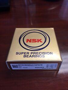 NSK super precision bearing 30TAC62BSUC10PN7B (30TAC62B) 30mm ID x 62mm OD
