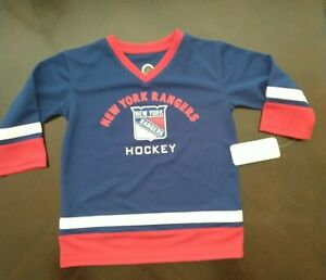 New York Rangers NHL Hockey Jersey Toddler Size 3T NEW NWT