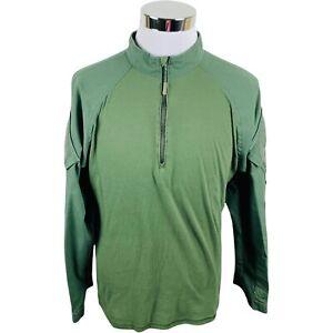 Tru-Spec Combat Cordura Base Layer Army Tactical Rip Stop Durable Shirt Men's L